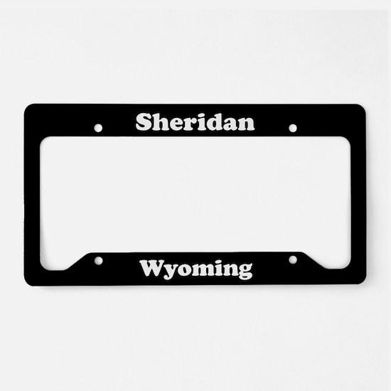 Sheridan WY - LPF License Plate Holder