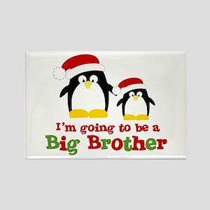 penguin big brother surprise Rectangle Magnet
