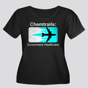 Chem Gov Health - White Plus Size T-Shirt