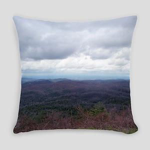 Mountain View Endless Treetops Everyday Pillow