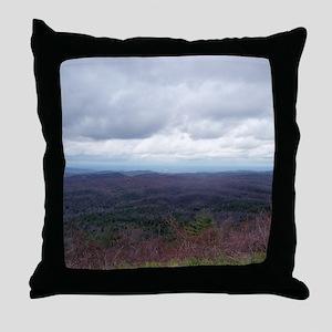 Mountain View Endless Treetops Throw Pillow