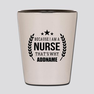 Gifts for Nurses Personalized Shot Glass