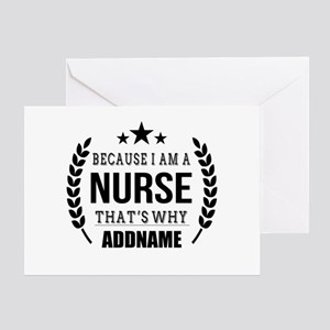 Gifts for Nurses Personalized Greeting Card