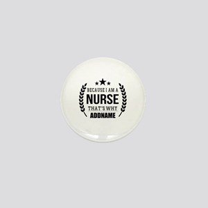 Gifts for Nurses Personalized Mini Button