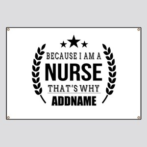 Gifts for Nurses Personalized Banner