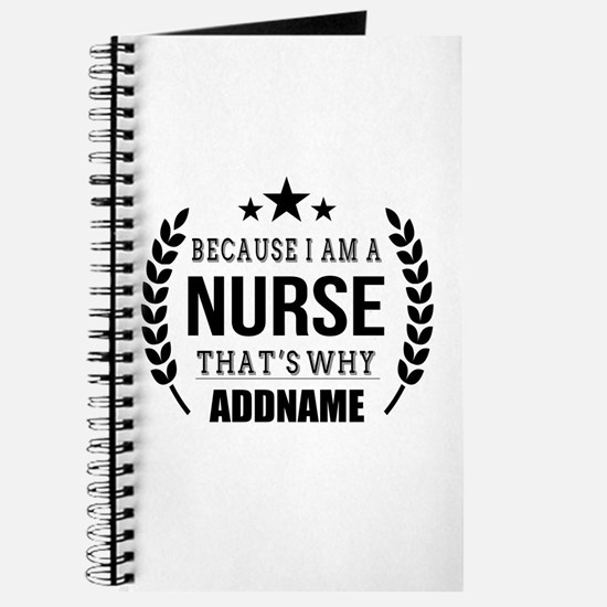 Gifts for Nurses Personalized Journal
