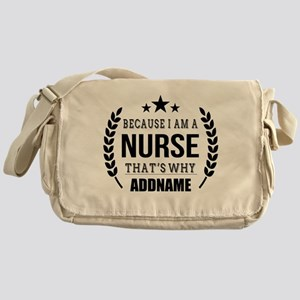 Gifts for Nurses Personalized Messenger Bag