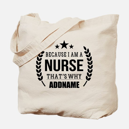 Gifts for Nurses Personalized Tote Bag