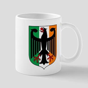 Patriotic German Irish Heritage Mugs