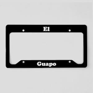 El Guapo License Plate Holder