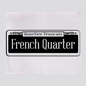 French Quarter Throw Blanket