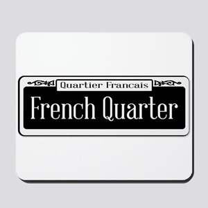 French Quarter Mousepad