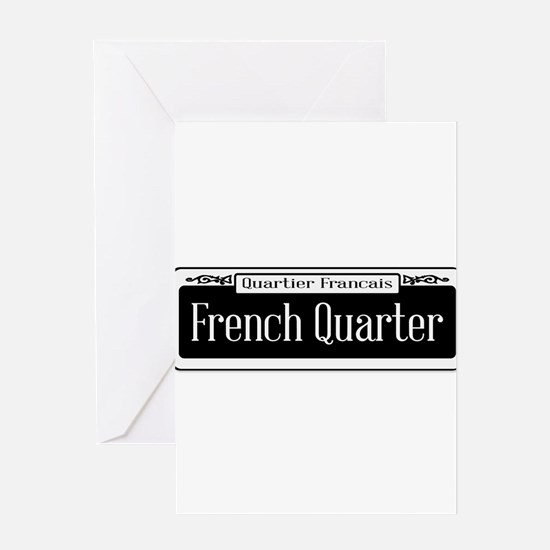 French Quarter Greeting Cards