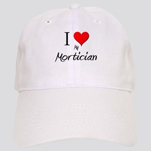I Love My Mortician Cap