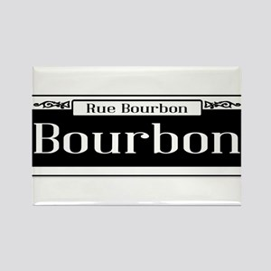 Rue Bourbon Street Sign Magnets