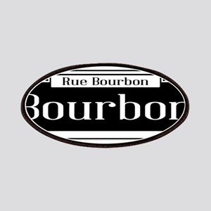 Rue Bourbon Street Sign Patch