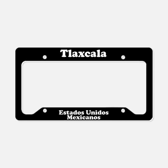 Tlaxcala Mexico - LPF License Plate Holder