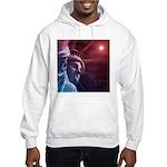 Patriotic Statue of Liberty Hooded Sweatshirt
