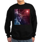 Patriotic Statue of Liberty Sweatshirt (dark)