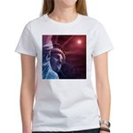 Patriotic Statue of Liberty Women's T-Shirt