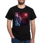 Patriotic Statue of Liberty Dark T-Shirt