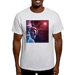 Patriotic Statue of Liberty Light T-Shirt
