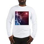Patriotic Statue of Liberty Long Sleeve T-Shirt