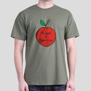 Apple of Pappou's Eye Dark T-Shirt