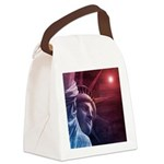 Patriotic Statue of Liberty Canvas Lunch Bag