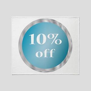 Ten Percent Throw Blanket