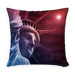Patriotic Statue of Liberty Everyday Pillow