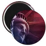 Patriotic Statue of Liberty Magnet