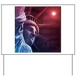 Patriotic Statue of Liberty Yard Sign