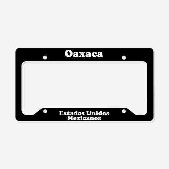 Oaxaca Mexico - LPF License Plate Holder