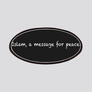 Islam, a message for peace Patch