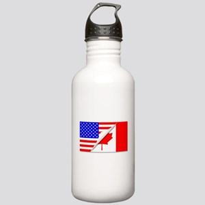 United States and Cana Stainless Water Bottle 1.0L