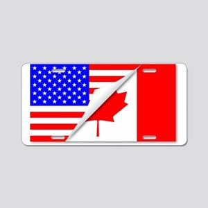 United States and Canada Fl Aluminum License Plate