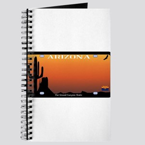 Arizona State License Plate Journal