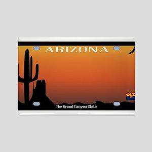 Arizona State License Plate Magnets