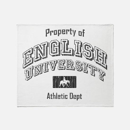Apha Throw Blanket