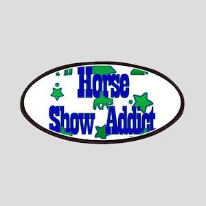 horse show addict Patch
