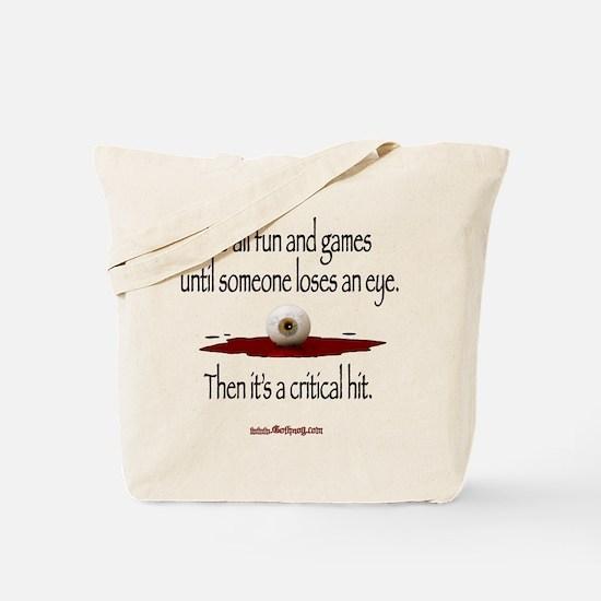 Critical Hit - Tote Bag