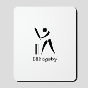 Team Cricket Monogram Mousepad