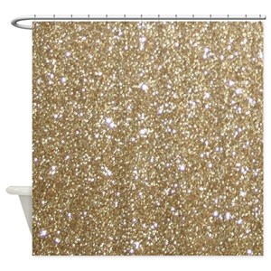 Gold Shower Curtains