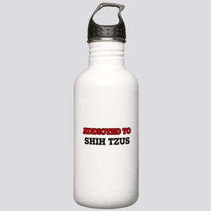 Addicted to Shih Tzus Stainless Water Bottle 1.0L