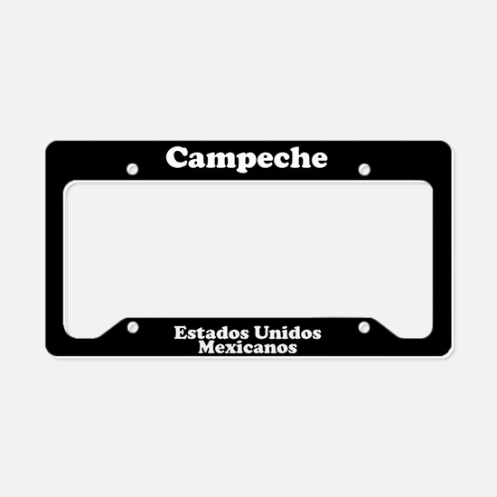 Campeche Mexico - LPF License Plate Holder