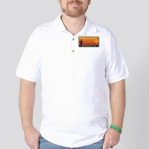 New Mexico License Plate Golf Shirt