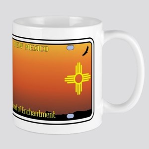 New Mexico License Plate Mugs