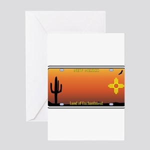 New mexico greeting cards cafepress new mexico license plate greeting cards m4hsunfo
