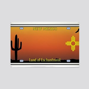 New Mexico License Plate Magnets